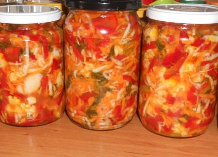 Salata de cruditati cu gogosari