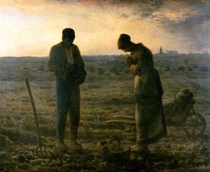 Rugăciune pe câmp
